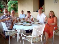 Drake Cottage has it's own covered terrace, ideal for entertaining alfresco!