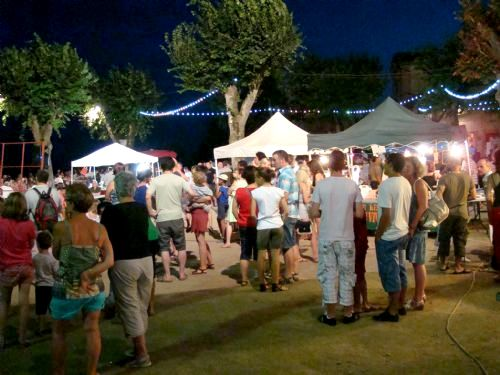 Night markets in July and August where you can sample the local produce and drink in the atmosphere