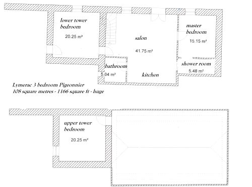 pigeonnier floor plan