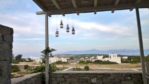 Sea view of Naxos