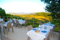Dine in our restaurant - enjoy freshly prepared delicious food from our gardens