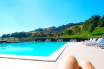 The pool with a view