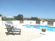 heated swimming pool (13kW electric)