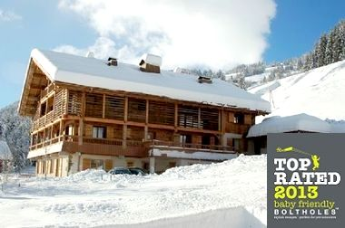 Chalet le 4 in winter
