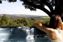 Clydey Hot Tub With Stunning Views
