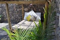 Shaded Private Daybed