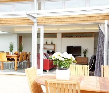Garden house terrace