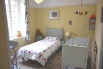 Nursery (next to master bedroom)