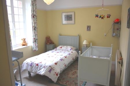 Nursery (next to master bedroom)