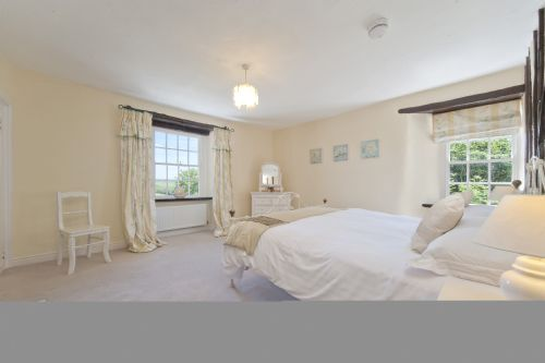 One of the 6 pretty bedrooms - this one has dual aspect.