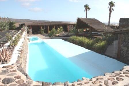 Solar Heated Pool Area