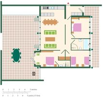 Garden House floorplan