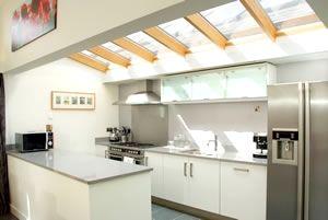 Garden House kitchen