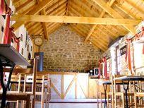 Inside Courtyard Bistro