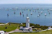 St Catherine's Lighthouse, just around the corner