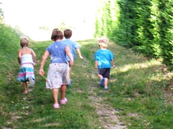 Kids Play at les Limornieres!  Lots of quiet lanes & coutryside tracks to explore, lots of wildlife to see & adventure to be found