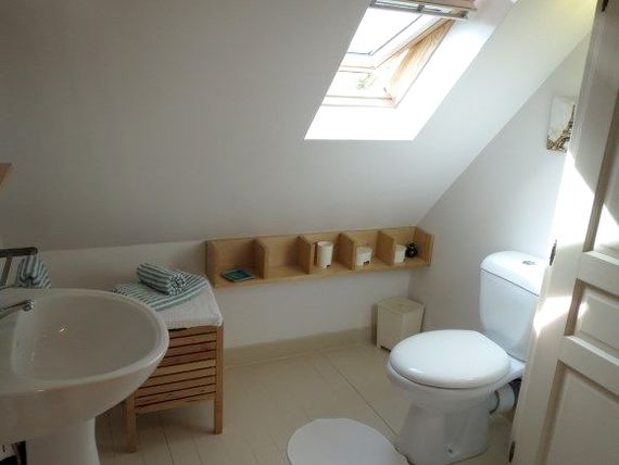 En suite shower room and wc - we provide baby bath for use is large shower tray, towels, changing mat