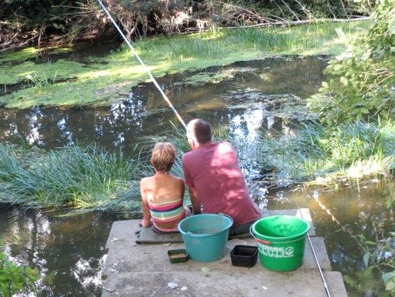 Loads of idyllic rivers for canoeing with bigger kids, or fishing, swimming and picnicing