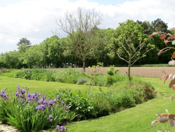 Relax in the gardens at les Limornieres after long day sightseeing