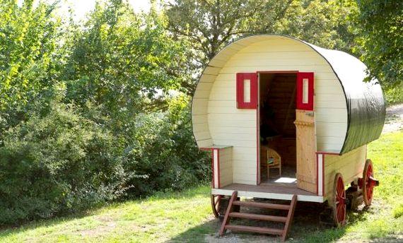 Full size gypsy caravan