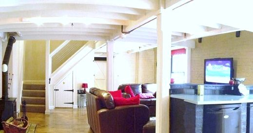 Granary Open Plan Living Space
