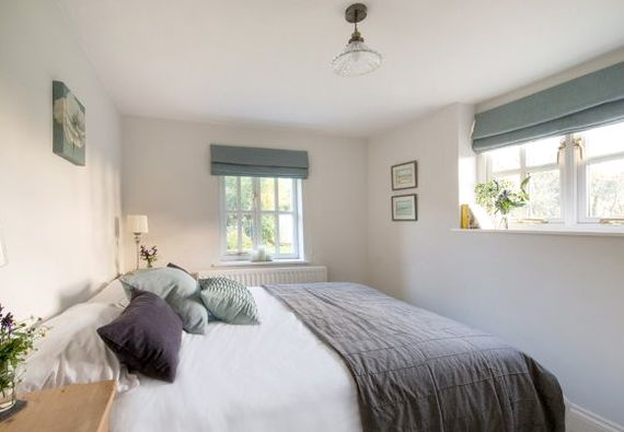 Double downstairs room with kingsize bed