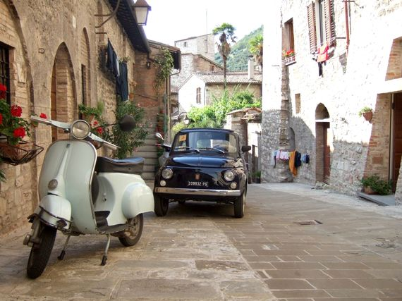 Gubbio - our local town -