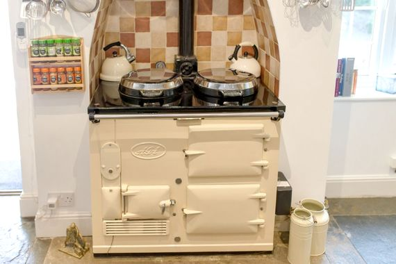 Keep warm and cosy with the Aga in the winter