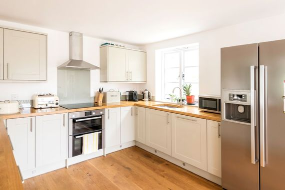 Open plan kitchen- fully equipped for all your needs.