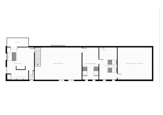 Floorplan - 1st Floor Main House