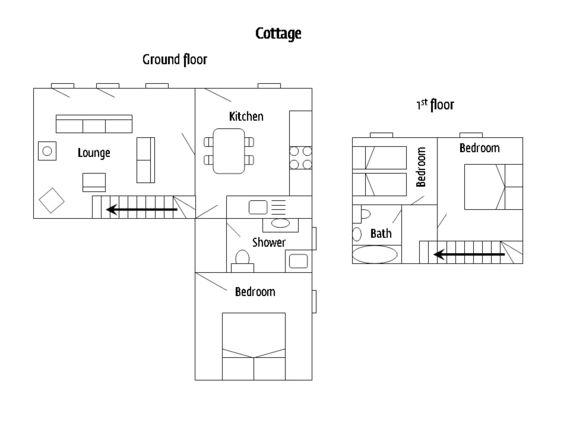 Le Cadran Solaire - Floor plan