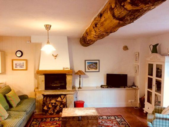Pierre's living room