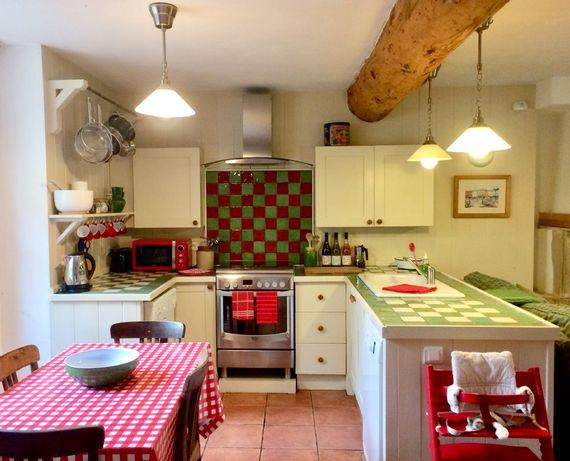 Pierre's kitchen