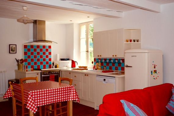 La Porcherie kitchen