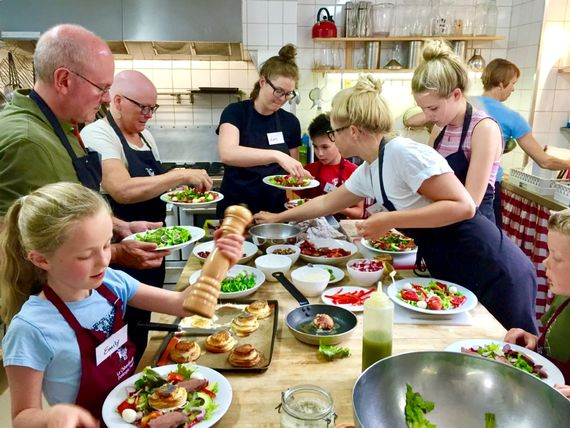 Our family Cooking courses