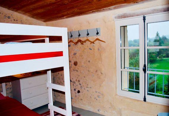 La Bergerie bunk room