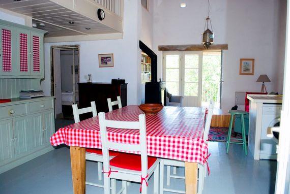 Hayloft kitchen living space