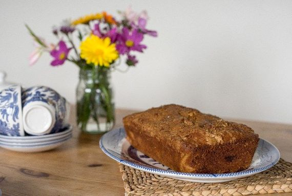 Homemade cake for your arrival, perfect with a cup of tea.