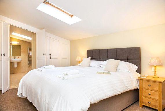 Master bedroom with 'secret' ensuite bathroom
