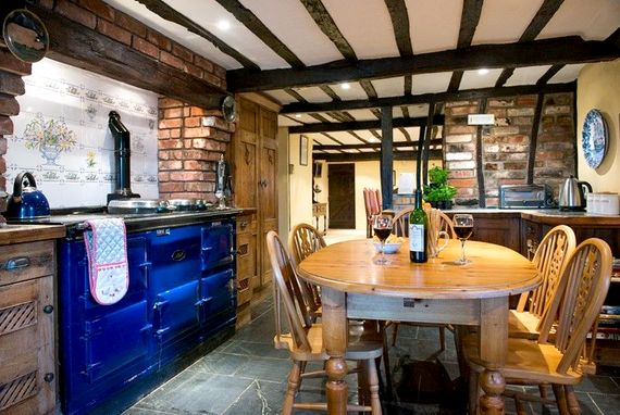 Farmhouse kitchen, a perfect for those lazy mornings enjoying breakfast and the papers