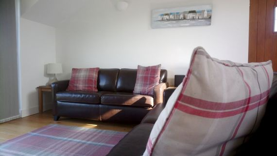 The Hayloft - open planned living area