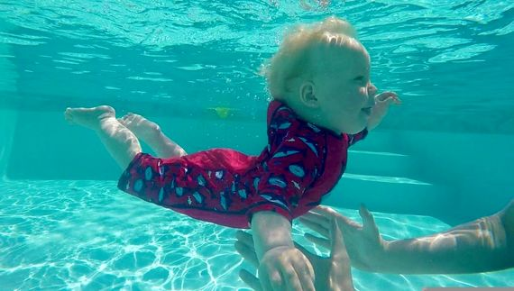 The heated pool is open from Easter until November and is kept pristine!