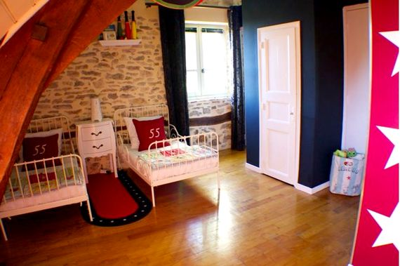Kids Circus themed room