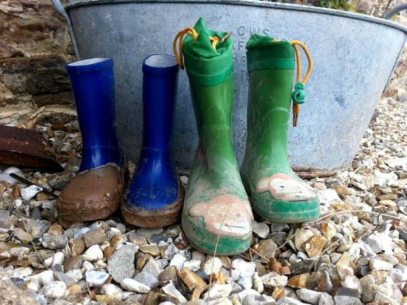 Don't forget your wellies!
