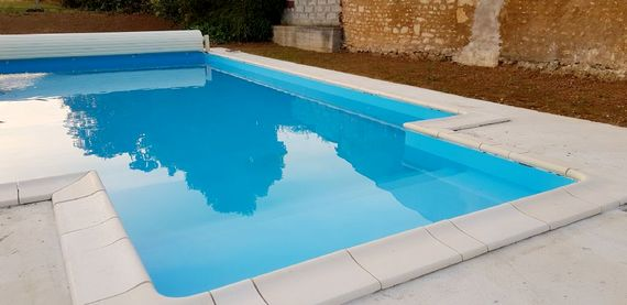 New for 2019 - 10m x 5m heated saltwater swimming pool. 1.25m deep (open 1st May to 30th September)