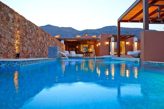 Domes of Elounda - Luxury Residence + Pool (4 bed) Image 1