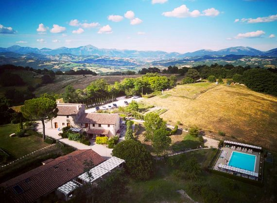 Umbria with Kids - the farmstead