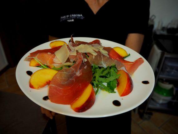 Yummy food at Pian Di Cascina