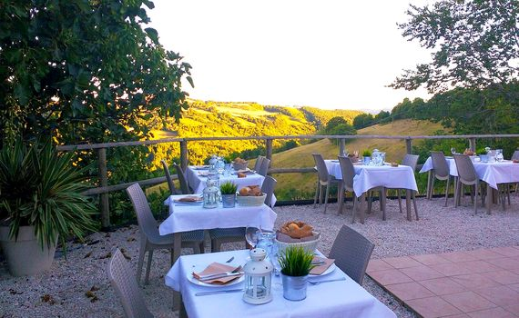Food and views to die for -