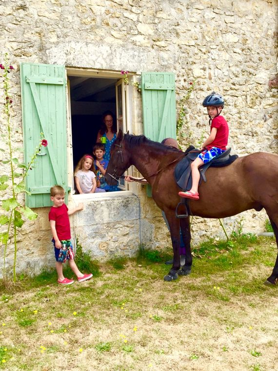 Pony rides for toddlers and pony experience afternoon for older children can be arranged locally.